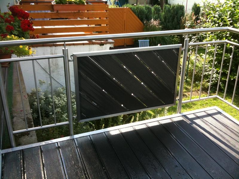edelstahl balkongel nder preis auf anfrage metall kreativ ug shop. Black Bedroom Furniture Sets. Home Design Ideas