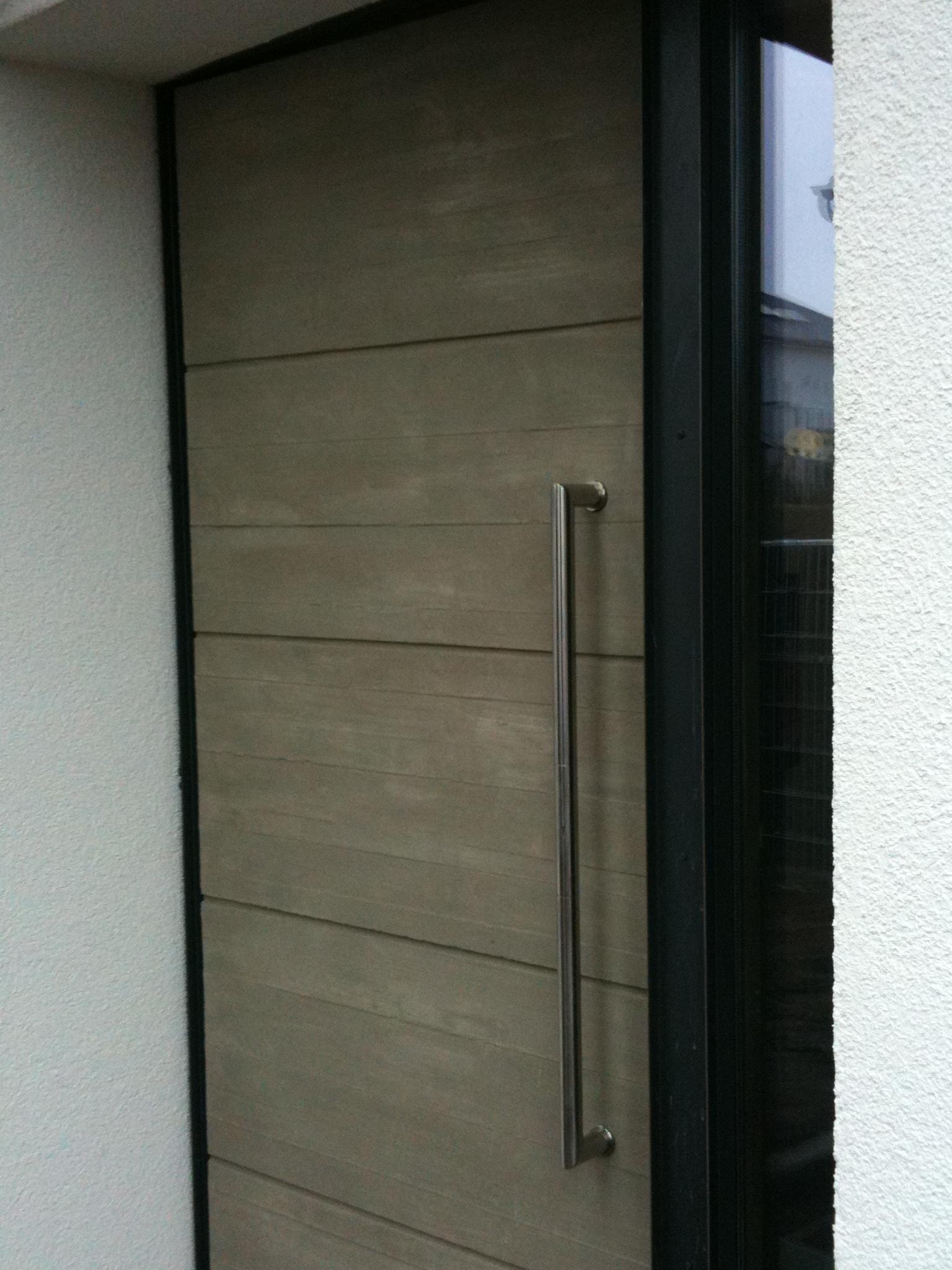 haust r mit betonf llung preis auf anfrage metall kreativ ug shop. Black Bedroom Furniture Sets. Home Design Ideas